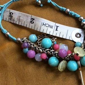Unknown Jewelry - BOHO Bead & Charm Bracelet